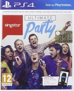Singstar ultimate party  playstation 4 PS4