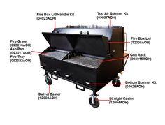 Smokers/Pellet Grills/Charbroilers