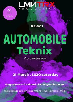 Car show alert! Show Must Go On, Food Park, Car Show, Philippines