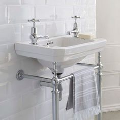 Burlington Victorian Cloakroom Basin. From www.ukbathrooms.com