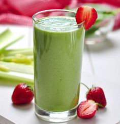 green strawberry banana smoothie recipe serves 1 low sodium and low fat