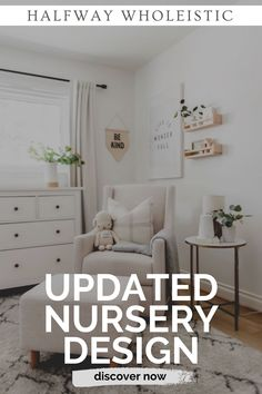 Click here to see this nursery reveal on Halfway Wholeistic! Boy nursery ideas themes color schemes inspiration boards. Nursery ideas neutral color palettes inspiration. Nursery decor boy grey room ideas. Nursery ideas neutral gray and white. Baby boy nursery room ideas themes color schemes. Nursery ideas boy rustic modern. Nursery decor neutral paint colors. Baby nursery ideas neutral grey room decor. Gender neutral nursery decor ideas. #nursery #home #decor Nursery Decor Boy, Nursery Design, Nursery Room, Nursery Ideas, Room Ideas, Decor Ideas, Neutral Nursery Colors, Neutral Paint, Bedroom Decor For Couples Romantic