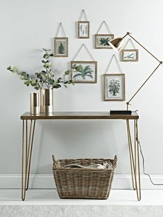 5 Practical Stylish Solutions For Small Hallways Console Tablesiron