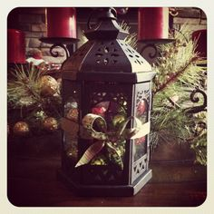 Decorative Christmas Lantern!