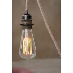 LAMPE A FILAMENT RETRO GEANTE 60 W E 27