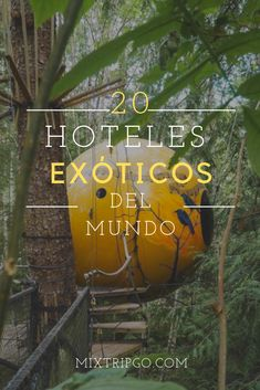 ➡Te gusta los lugares extravagantes? Entonces no te pierdas de conocer los 20 hoteles raros del mundo que figuran en este post!
