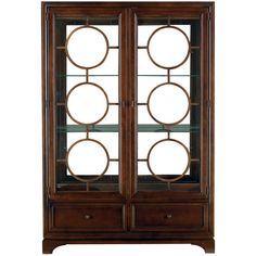 I think this is it....Continuum China Cabinet in Amaretto Cherry
