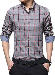 jeansian Men's Fashion Casual British Lattice Slim Fit Sh... https://www.amazon.ca/dp/B01N53E8QY/ref=cm_sw_r_pi_dp_x_5bRlybAQ484WZ