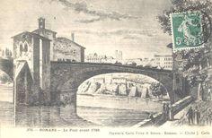 Le pont avant 1789.
