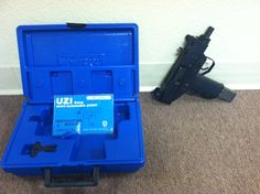 I.M.I  Uzi, select fire (includes fully automatic setting), less than 50 rounds fired,    complete with original box and owner's manual. 9mm Parabellum rounds. $7,000