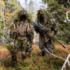 Norwegian Snipers from Cavelry Squadron 1 during exercise Noble Ledger, Cavalry…