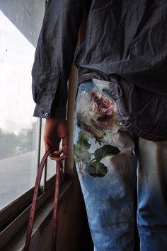 """""""Jeans décorés"""""""