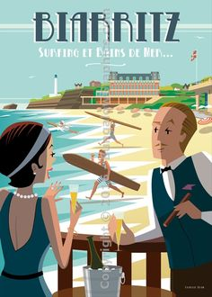 Biarritz Bains de mer