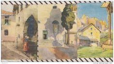 4AG1499 ILLUSTRATEUR FASOLIS lot de 3 cartes ITALIE   2  SCANS