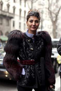 Giovanna_battaglia_elle_italia_marzo_2011_Style_icon_Fur-Fendi_Street_style_fashionOverReason.jpg (756×1134)