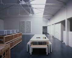 Edmund de Waal — Studio Converted ammunitions factory in West Norwood