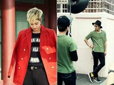 "Kim Hyun Joong | ""TIMING"" jacket photo shooting"