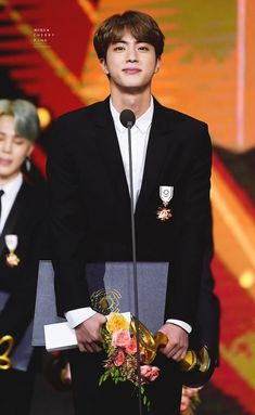 BTS at 2018 Korean Popular Culture & Arts Awards - Red Carpet Seokjin, Namjoon, Bts Jin, Jimin, Taehyung, Foto Bts, Jung Hoseok, Shop Bts, K Pop