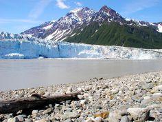 A sunny day at Miles Glacier. Photo credit: Suzie Kendrick.