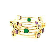 Bracelets SQUARE Drop by www.annavonbergmann.de
