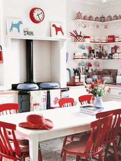 Find This Pin And More On Lake Living Living In The Country My Cabin In Cusick Red And White Kitchen
