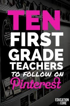 First grade teachers! First Grade Blogs, First Grade Lessons, Teaching First Grade, First Grade Reading, Student Teaching, Teaching Ideas, First Grade Schedule, Teaching Letters, Creative Teaching