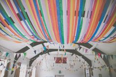 Inexpensive Wedding Venues Near Me Wedding Reception Backdrop, Wedding Bunting, Wedding Venue Decorations, Wedding Venues, Wedding Halls, Wedding Ideas, Wedding Streamers, Hall Decorations, Wedding Decor