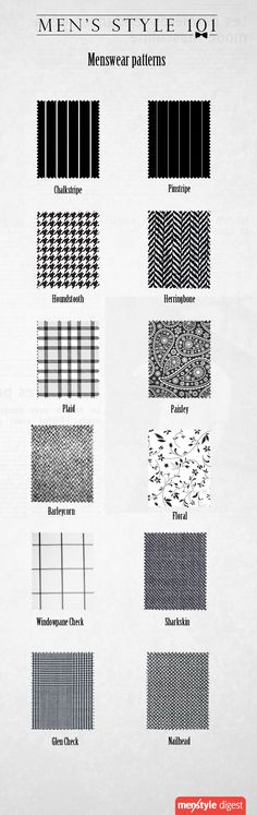 Good to know pattern and texture designs.