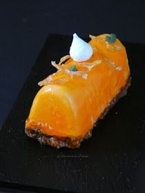 Semifrío de Turrón y Naranja Gazpacho, Food Presentation, Cooking Tips, Food And Drink, Orange, Ethnic Recipes, Cake Pops, Gastronomia, Mango Cheesecake