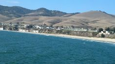 Pismo Beach, view from the pier, taken by me 09/2012.