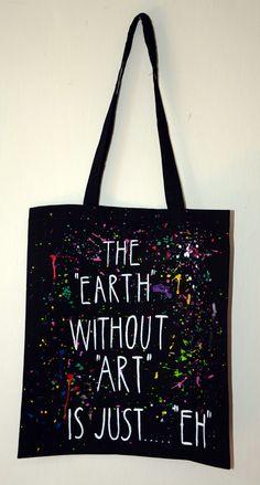 <span>Plátěná taška se suchým zipem - ART | <a…