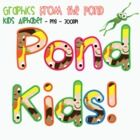 Pond Kids Alphabet  65 .png files to download