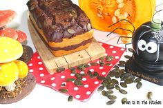 Cake Marbré Chocolat, Potiron et Graines de Courge