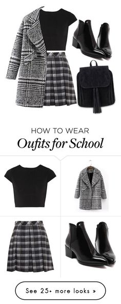 """School"" by chanelover01 on Polyvore featuring Proenza Schouler and Alice + Olivia"