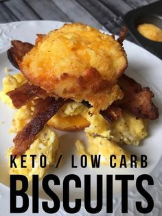 My southern heart is so very happy! These keto biscuits are amazing!! keto / low carb / keto recipes / keto biscuits, coconut flour keto biscuits / ketogenic diet / low carb bread / keto bread #keto #easyrecipes #kaseytrenum