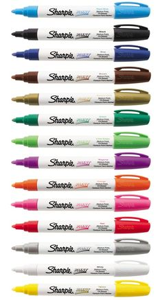 Sharpie Paint Marker MEDIUM Tip Pens OIL BASED. Most surfaces Indoor & Outdoor | Crafts, Art Supplies, Drawing & Lettering Supplies | eBay!