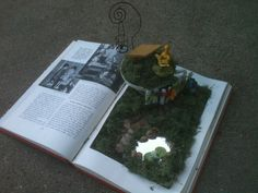 Books Enchanted Blog: My latest project: fairy garden books!