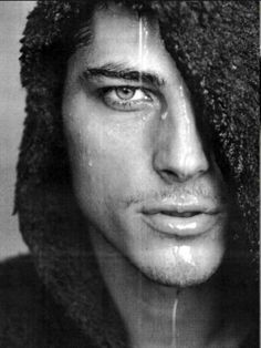 Atesh Salih. Those eyes in this photo.  I'm undecided after Googling but this pic still does something to me! lol