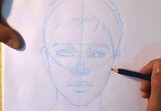 paso 3 dibujar retratos realistas paso a paso