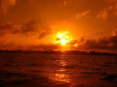 Sunset + red underwater filter