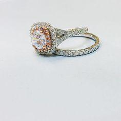 We're better together babY  #together #baby #babe #bae #hearts #lockandkey #bikini #diamond #diamondring #engagementring #weddingring #weddingband #gold #platinum #jewelry #gold #rosegold #engaged #proposal #wedding #bride #bridetobe #groom #love #moissanite #bridal #fashion #style #trends