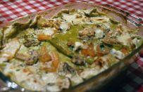 Lasagne con zucca e funghi porcini