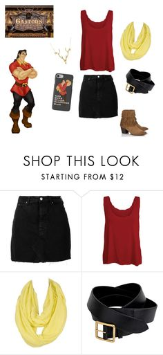 """""""Gaston Disney bound"""" by ellie-may346 on Polyvore featuring IRO, WearAll, Alexander McQueen, Lipsy and Lee Renee"""