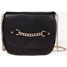 FOREVER 21 Faux Leather Crossbody ($28) ❤ liked on Polyvore