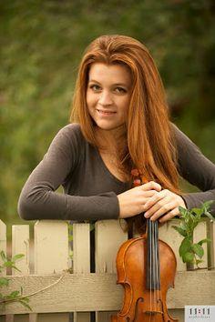 really like this one!   #senior & violin