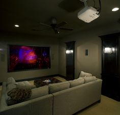 Garage Home Theater