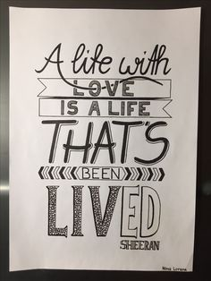 Drawing Quotes Lyrics Ed Sheeran Ideas For can find Lyric art and more on our website.Drawing Quotes Lyrics Ed Sheeran Ideas For 2019 Calligraphy Quotes Lyrics, Hand Lettering Quotes, Typography Quotes, Lyric Quotes, Art Quotes, Lyric Drawings, Drawing Quotes, Drawing Ideas, Song Lyrics Art
