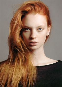 Love this light strawberry blonde color