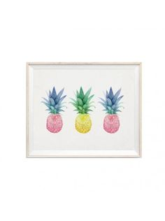 pineapple print.