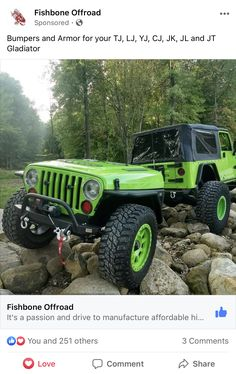 Jeep Garage, Offroad, Monster Trucks, Passion, Vehicles, Rolling Stock, Off Road, Vehicle